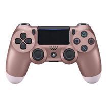 Controle Playstation 4 Dualshock 4 Rosa Dourado - PS4 - Sony