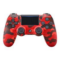 Controle Playstation 4 Dualshock 4 Vermelho Camuflado - PS4 - Sony