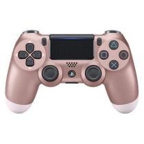 Controle Playstation Dualshock 4 Rosa Dourado - PS4 - Sony -