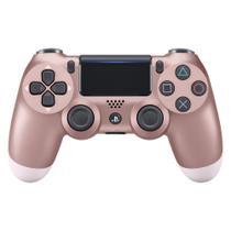 Controle Playstation Dualshock 4 Rosa Dourado - PS4 - Sony