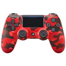 Controle Playstation Dualshock 4 Vermelho Camuflado - PS4 - Sony -