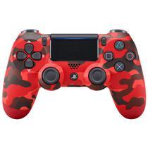 Controle Playstation Dualshock 4 Vermelho Camuflado - PS4 - Sony