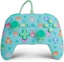 Controle Power A Com Fio Animal Crossing New Horizons para Nintendo Switch -