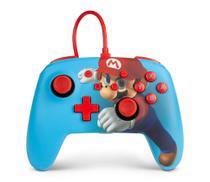 Controle PowerA Com Fio Mario Punch para Nintendo Switch - Power A