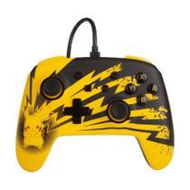 Controle PowerA com fio (Pikachu Lightning Edition) - Switch -
