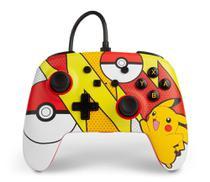 Controle PowerA Com Fio Pikachu Pop Art para Nintendo Switch - Power A