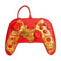 Controle PowerA com fio (Super Mario Edition) - Switch -