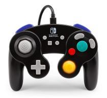 Controle PowerA Estilo GameCube Preto Com Fio para Nintendo Switch - Power A