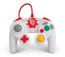 Controle PowerA Estilo GameCube Super Mario Com Fio para Nintendo Switch - Power A