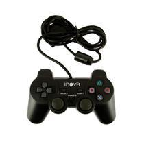 Controle PS2 Com Vibração Simples e Direção Analógica CON-8198 - Inova -