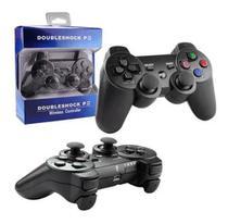 Controle PS3 dobleshock Sem Fio Wireless Bluetooth - Preto - Sony