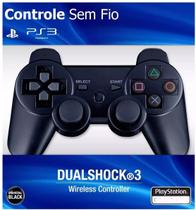 Controle Ps3 Sem Fio Dualshock Playstation 3 Wireless