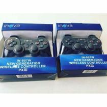 Controle Ps3 Sem Fio  Wireless  Dual Shock  Inova  Play3 - Fgb