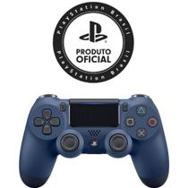 Controle PS4 Dualshock 4 Playstation 4 Azul Norturno Midnight Blue - Sony