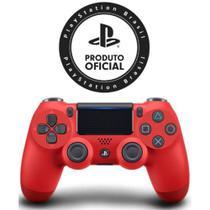 Controle PS4 Dualshock 4 Vermelho Magma Controle Sony -