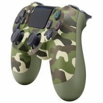 Controle Ps4 Playstation 4 Dualshock Original Sony Camuflado verde