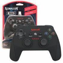 Controle Redragon Sem Fio Harrow G808 Para PC e Ps3 Preto -