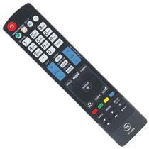 Controle remoto compatível tv led lg vc8084 -