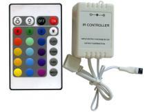 Controle Remoto E Controladora Para Fita Ultra Led Rgb 5050 - Eks - Initial