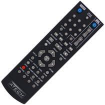 Controle Remoto Gravador de DVD LG AKB31621901 / DR-175 / DR-265 / DR-275 / DR-385 / DR-7621B - Atech eletrônica
