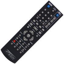 Controle Remoto Gravador de DVD LG AKB31621901 / DR-175 / DR-265 / DR-275 / DR-385 / DR-7621B - Atech