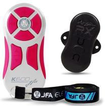 Controle Remoto Jfa K600 Branco/Rosa 600m -