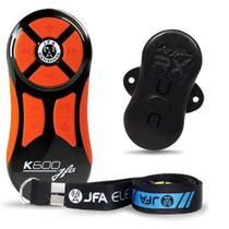 Controle Remoto Jfa K600 Preto/Laranja 600m -
