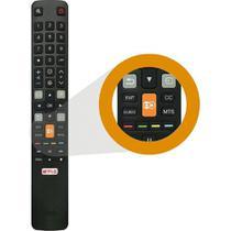 Controle Remoto Led Toshiba Smart 4k Tecla Globo Play - Fgb