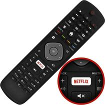 Controle Remoto Philips Smart Tv Lcd Led Tecla Netflix 32phg5102/78 -