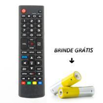 Controle Remoto Televisão Lcd Smart LG 7027 Com Botão 3d - Mex