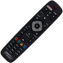 Controle Remoto TV LED Philips 32PFL4901 com Youtube / Netflix - Importado