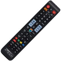 Controle Remoto TV LED Samsung AA59-00784C com Netflix e Amazon (Smart TV) - Atech