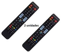 Controle Remoto TV LED Samsung AA59-00784C com Netflix e Amazon (Smart TV) kit 2 unidades - Sky