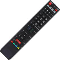 Controle Remoto Tv Led Sharp Aquos Lc-50le650 Netflix 11176 - Crs