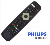 Controle Remoto Tv Philips Smart Com Netflix Youtube - Lelong/Sky