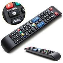 Controle Remoto Tv Samsung Smart  Função Futebol Smart Hub - MbTech