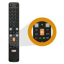 Controle Remoto Tv TCL Smart 4K L32s4900s L40s4900fs Teclas Globo Play Netflix - MXT