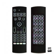 Controle Remoto universal c/ Teclado LED Air Mouse e IR - Lotus