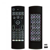 Controle Remoto universal c/ Teclado LED Air Mouse e IR + Pilhas AAA - Lotus