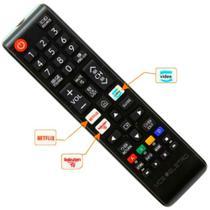 Controle remoto universal samsung Led Lcd /Uhd/ Hd /4k /8k/ Ultra/ Qled /Smart /Wifi/ Hdr Tv - FBG/LE/SKY