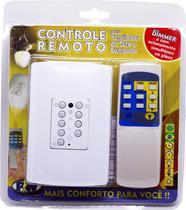 Controle Remoto Ventilador Teto Com Placa 4x2 - Marca: Pw