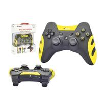 Controle sem Fio 4 em 1 PC PS1 PS2 PS3 Amarelo XD-503 XD-503 XTRAD - Knup