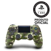 Controle sem Fio Dualshock 4 Sony PS4 - Camuflado Verde -