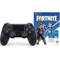 Controle sem Fio Playstation 4 Preto Fortnite-Sony -
