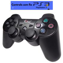 Controle sem fio PS3 wireless bluetooth dualshock playstation 3 Joystick  Feir FR-205