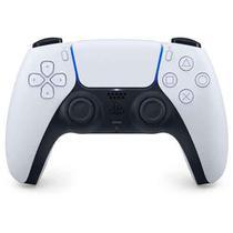 Controle sem Fio Sony DualSenseT Branco e Preto para Playstation 5 -