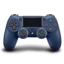 Controle sem Fio Sony Dualshock 4 Midnight Blue para Playstation 4 -
