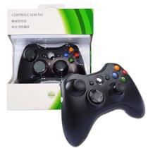 Controle Sem Fio Xbox 360 - preto - Feir