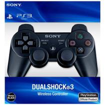 Controle Sixaxis Dual Shock 3 / Ps3 / Wireless - Preto - Sony