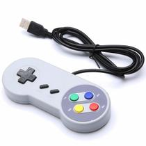Controle Snes USB - PC video game - Feir
